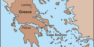 Athen Kort Kort Athen Graekenland